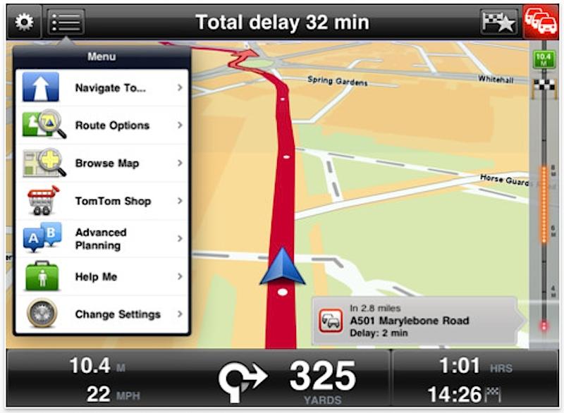 Actualizan TomTom y agregan soporte para iPad