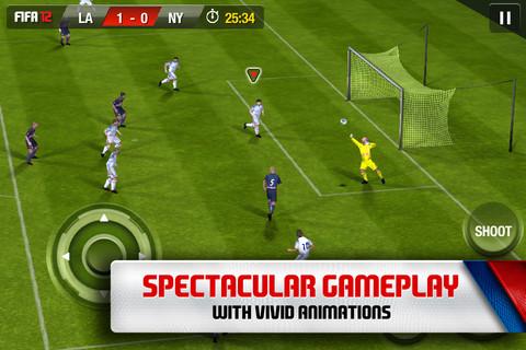 Nuevo FIFA 2012 para iPad