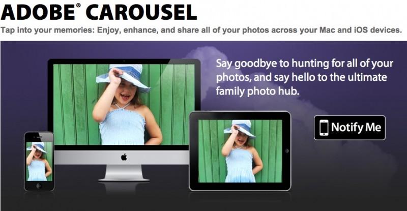 Adobe Carousel llega a iOS y Mac