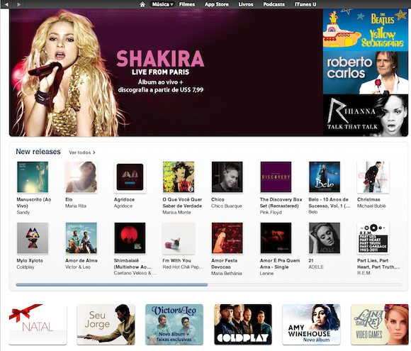 iTunes Store llega a América-Latina