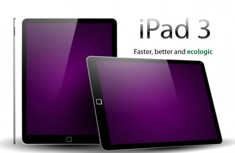 Nuevos rumores del iPad 3, lanzamiento en Febrero