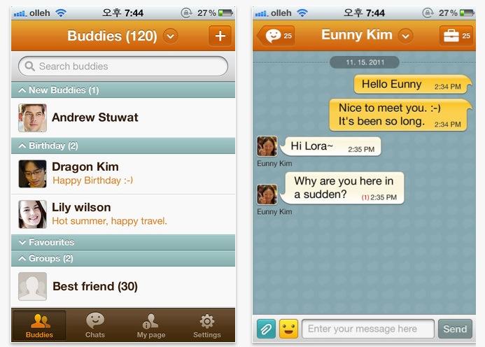 ChatON llega a la App Store de Apple