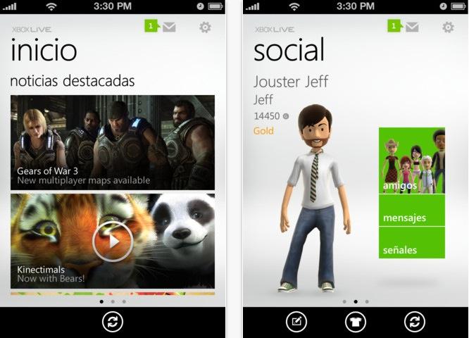 Los juegos de Xbox Live llegarán a iOS