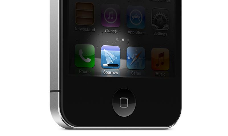 Sparrow para iPhone, las primeras imágenes