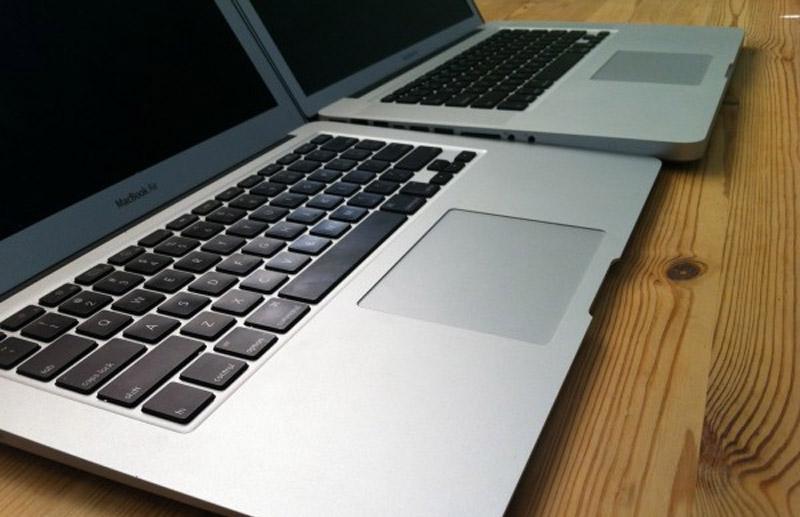 Las nuevas MacBook Pro se producirán en Abril