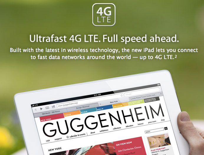 El nuevo iPad presenta los primeros problemas con redes 3G