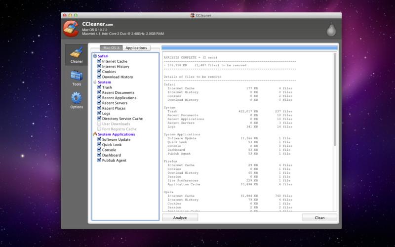 CCleaner lanza una versión para Mac