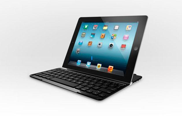 Logitech lanza su funda con teclado para iPad
