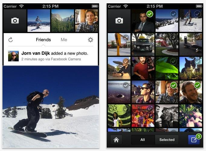 Facebook Camera, una herramienta más de Facebook para iPhone