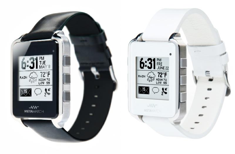 MetaWatch otro reloj inteligente compatible con iPad
