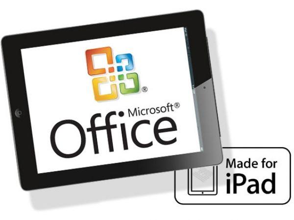 La versión de Office para iOS llegará en Noviembre