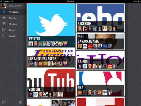 Thirst, una nueva mirada de Twitter para iPad