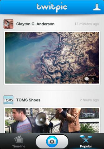 Twitpic presenta su aplicación oficial para iPhone