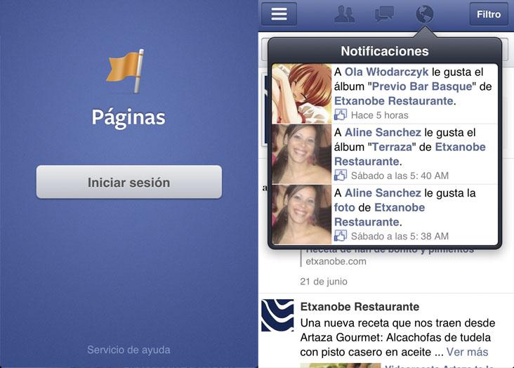 Facebook Pages Manager, administra tus páginas desde iOS