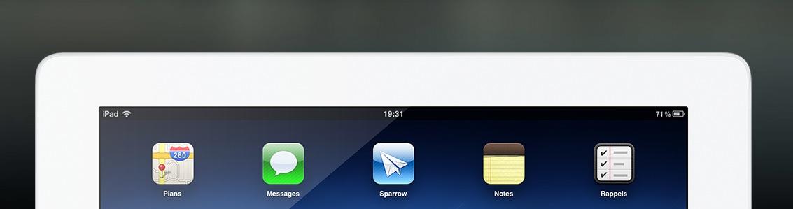 Sparrow ya está desarrollando su aplicación para iPad