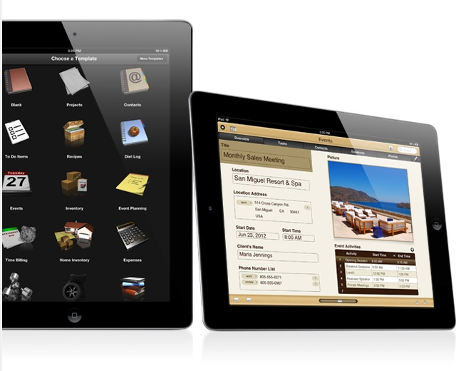 Bento 4 para iPad