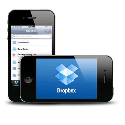 Se actualiza Dropbox para iOS
