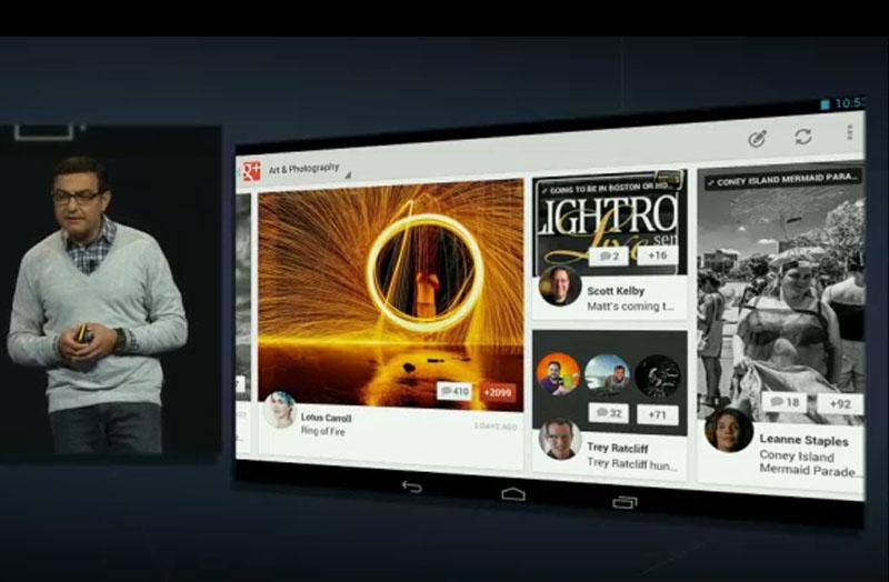 Google I/O con noticias para usuarios de iOS: Google+ para iPad